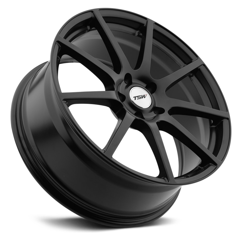 Tsw 174 Interlagos Wheels Matte Black Rims