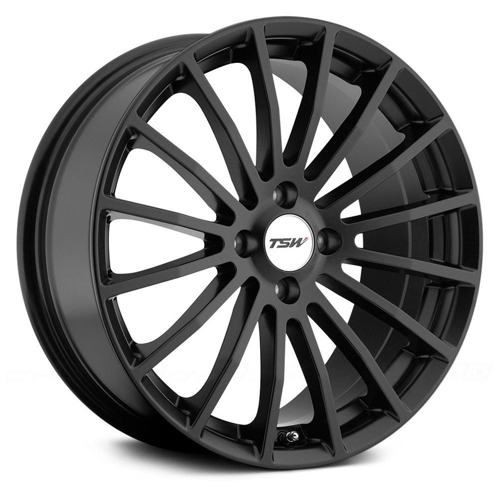 Tsw 174 Mallory Wheels Matte Black Rims