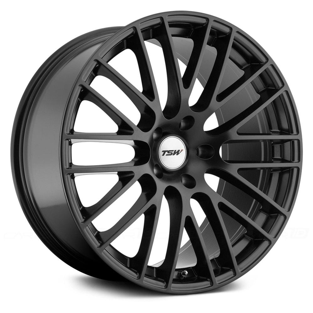 TSW® MAX Wheels - Matte Black Rims - 2090MAX355120M76-I