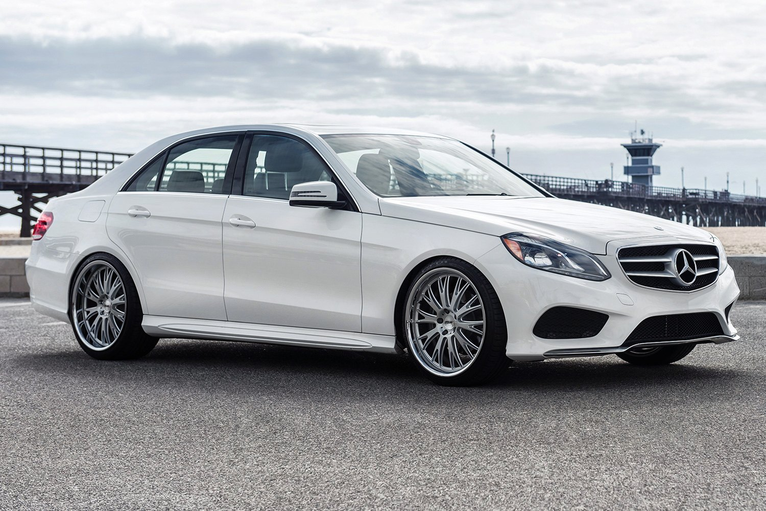 Tsw monaco wheels silver with brushed face and ss lip rims for Garage mercedes monaco