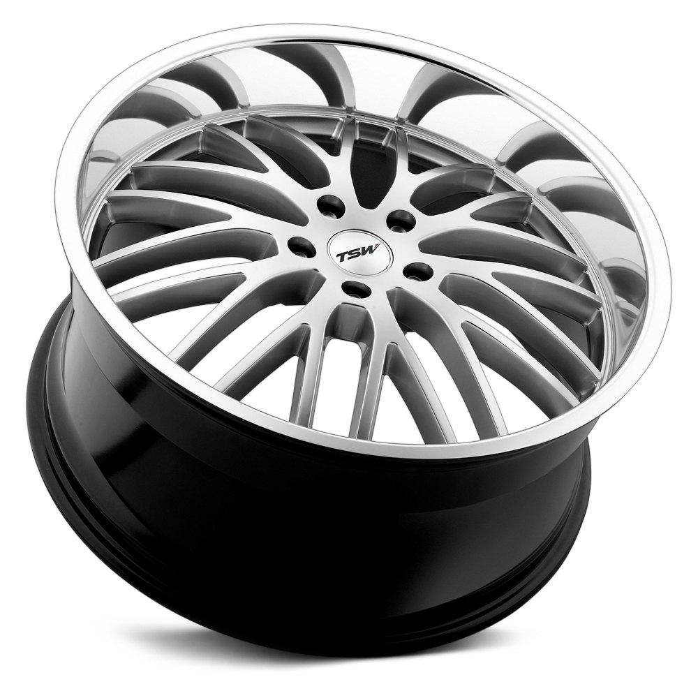 TSW® SNETTERTON Wheels - Hyper Silver with Mirror Cut Lip Rims