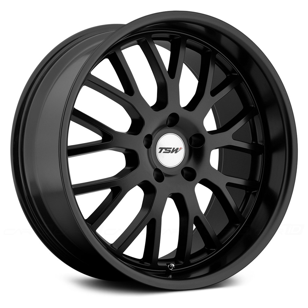 Tsw 174 Tremblant Wheels Matte Black Rims