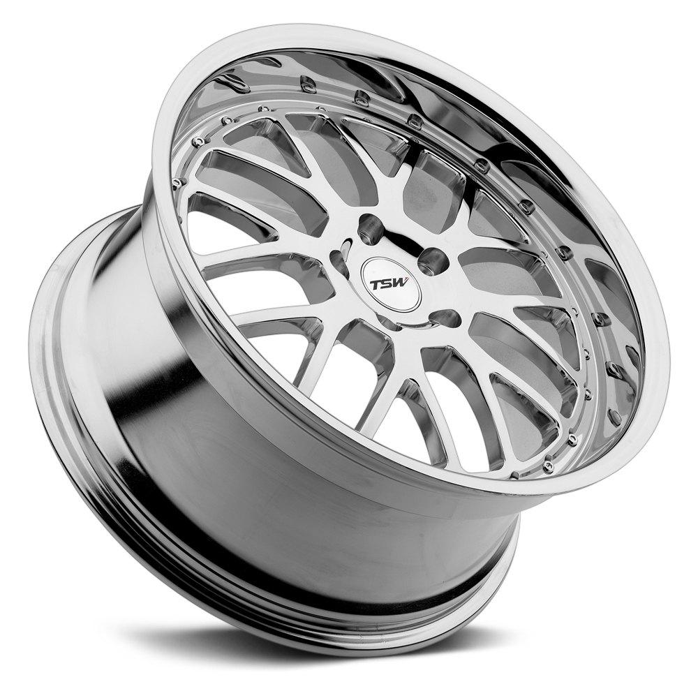 TSW® VALENCIA Wheels - Chrome Rims