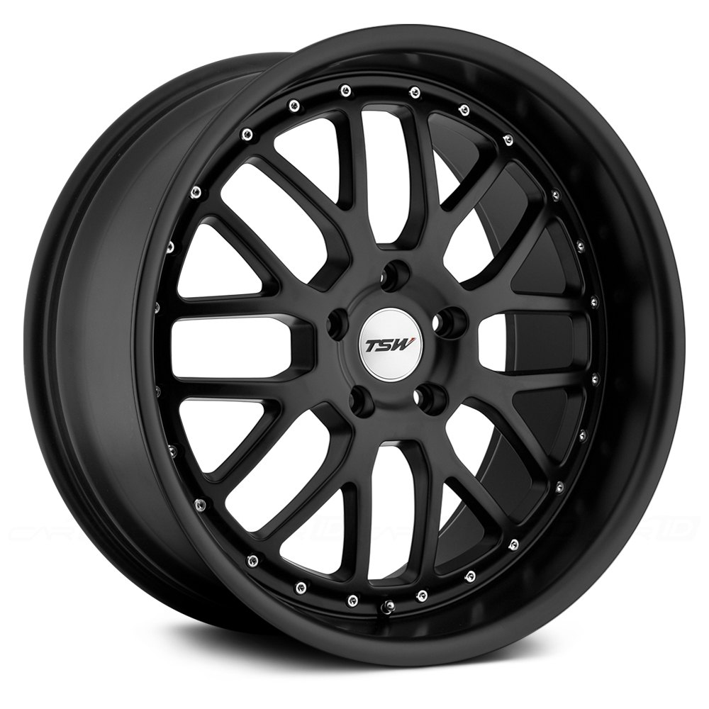 Tsw 174 Valencia Wheels Matte Black Rims
