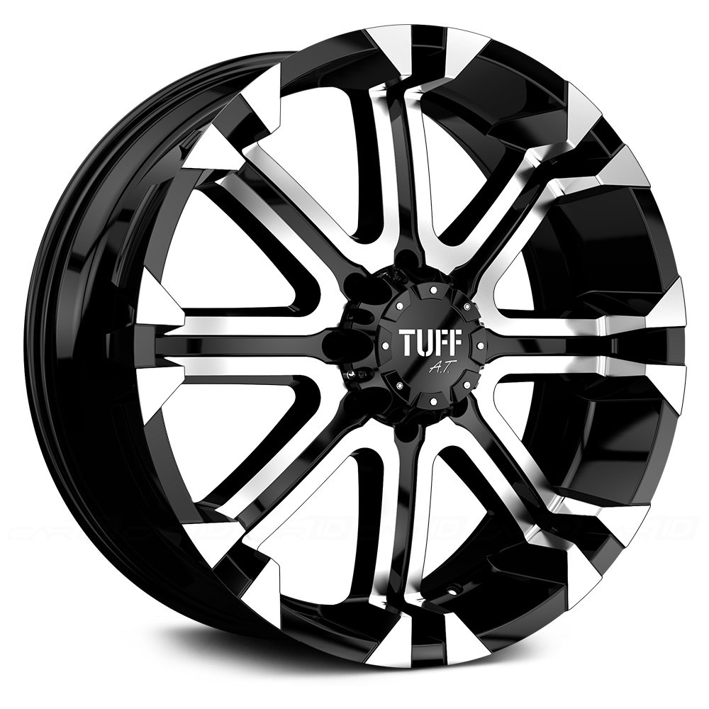 Ford Ranger All Terrain Tires: Flat Black With Machined Face And