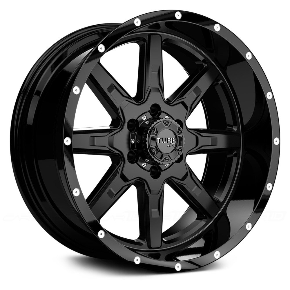 Tuff 174 T15 Wheels Satin Black Rims