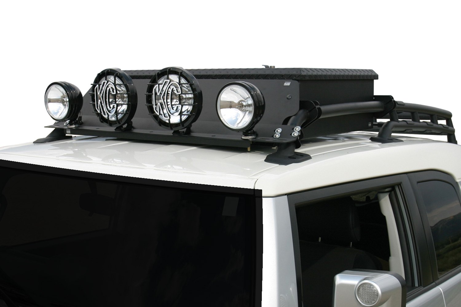 Tuffy 147 01 roof rack light bars for 4 large or 6x4 lights roof rack light bars for 4 large or 6x4 aloadofball Images