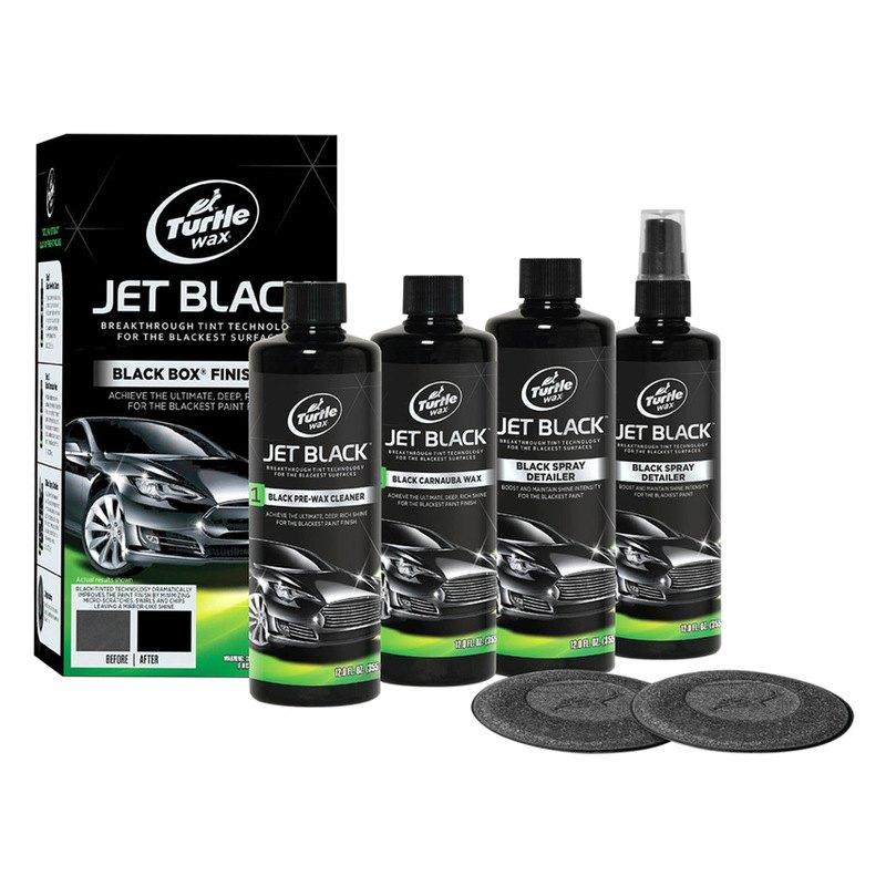 Turtle Wax 174 T3kt Jet Black Black Box Kit