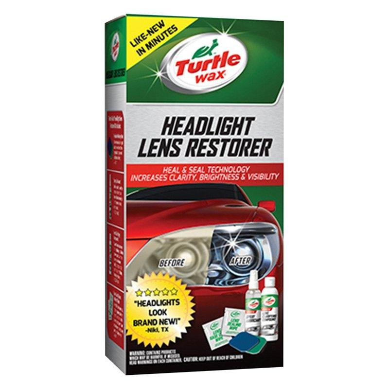 turtle wax headlight lens restorer instructions