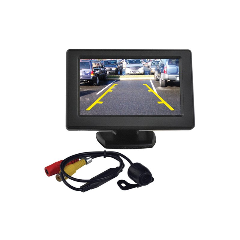 Tview 174 Rv43c Rear View Mirror With Built In 4 3 Quot Monitor