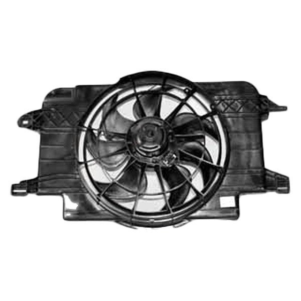 620390 Tyc Dual Radiator And Condenser Fan Ebay
