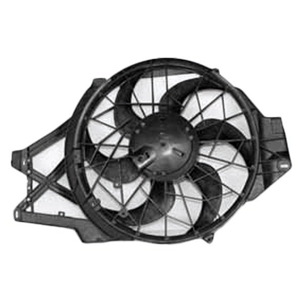 Tyc 620500 Dual Radiator And Condenser Fan Ebay