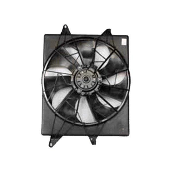 Tyc 620950 Dual Radiator And Condenser Fan Ebay