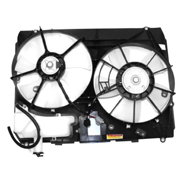 For Toyota Sienna 2004 2005 Tyc 620960 Dual Radiator Condenser Fan