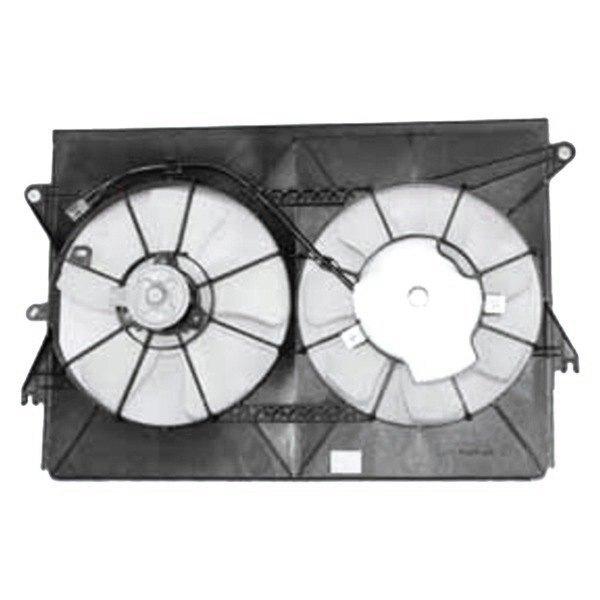 621120 Tyc Dual Radiator And Condenser Fan Ebay
