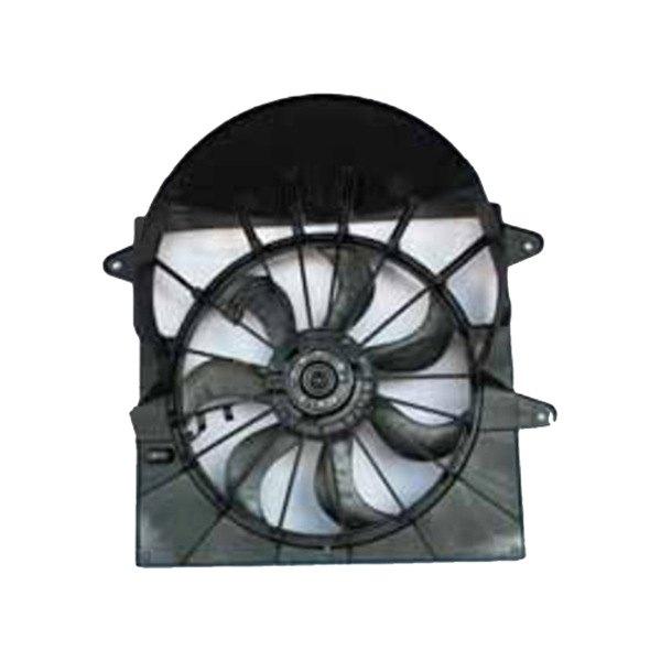 621220 Tyc Dual Radiator And Condenser Fan