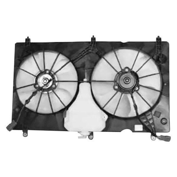 Tyc 621580 Dual Radiator And Condenser Fan Ebay