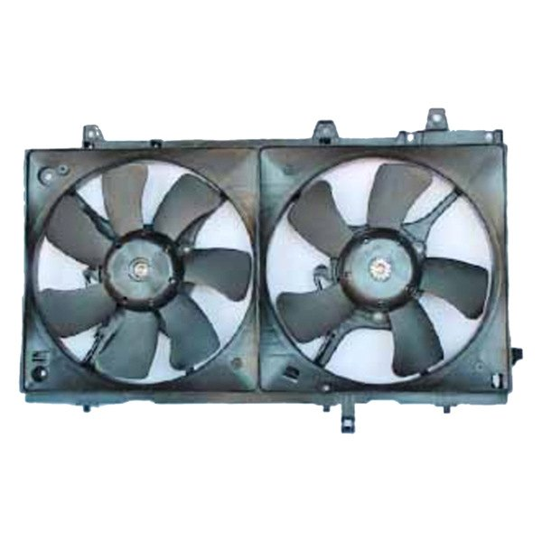 621630 Tyc Dual Radiator And Condenser Fan