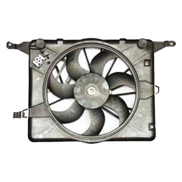 621830 Tyc Dual Radiator And Condenser Fan Ebay