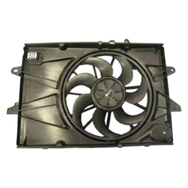 622720 Tyc Dual Radiator And Condenser Fan Ebay
