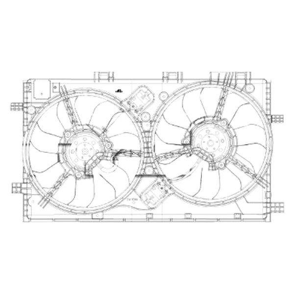 2013 Buick Regal Suspension: For Buick Regal 2011-2013 TYC 622860 Dual Radiator