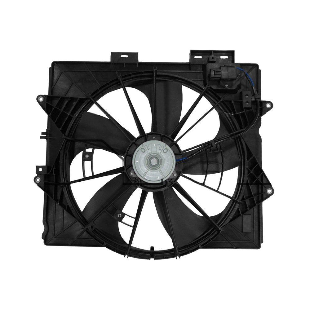 622930 Tyc Dual Radiator And Condenser Fan Ebay