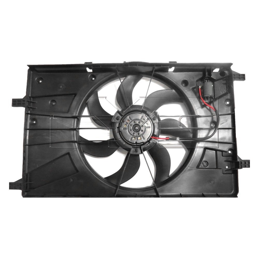 2014 chevy cruze cooling fan wiring diagram tyc® - chevy cruze 2014 dual radiator and condenser fan #11