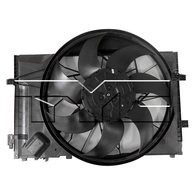 623280 Tyc Dual Radiator And Condenser Fan