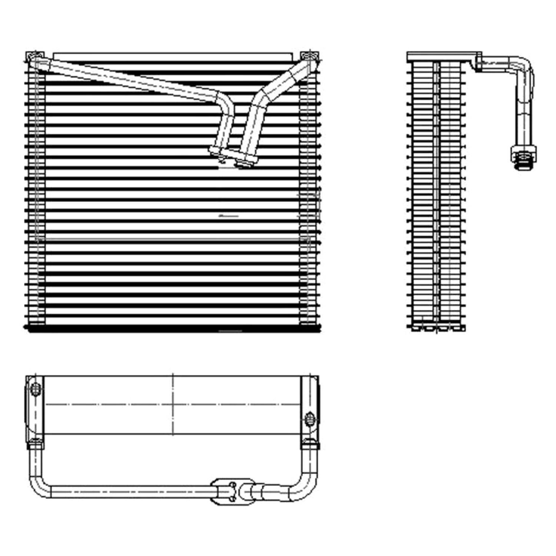 One New TYC A//C Evaporator Core 97139 for Honda MDX Odyssey Pilot