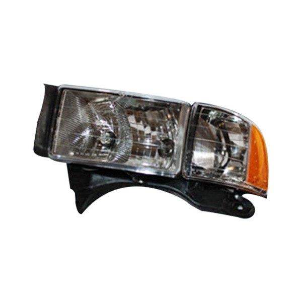 Dodge Replacement Headlights: Dodge Ram 1999-2001 Replacement Headlight