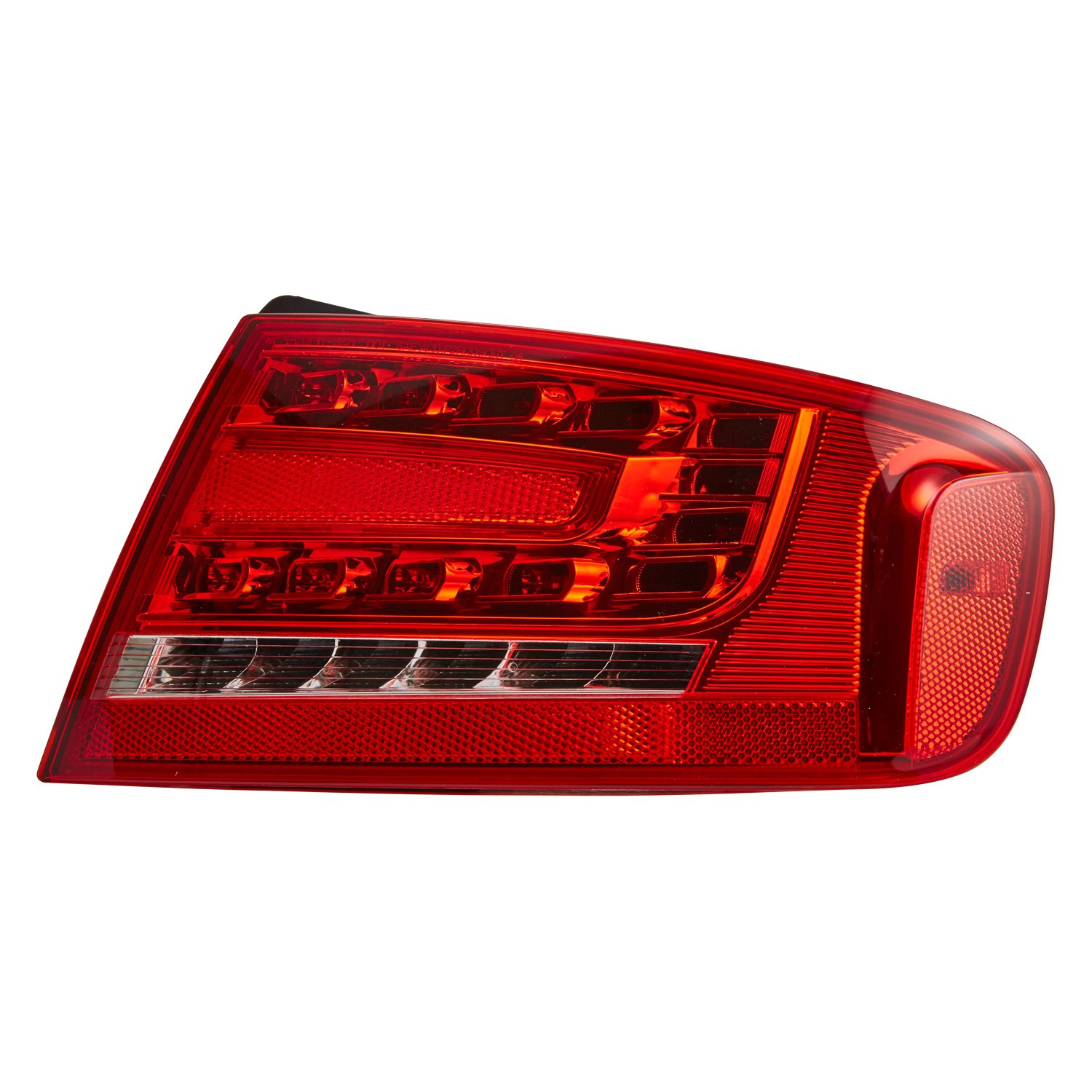 tyc audi a4 a4 quattro 2010 replacement tail light. Black Bedroom Furniture Sets. Home Design Ideas