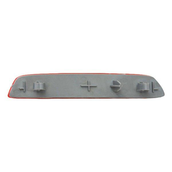 Fits 2010-2015 GMC Terrain Driver Side Rear Bumper Reflector NSF Certified GM1184109 Replaces 22950587 ;