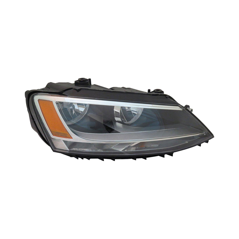 TYC® - Volkswagen Jetta 2011-2013 Replacement Headlight