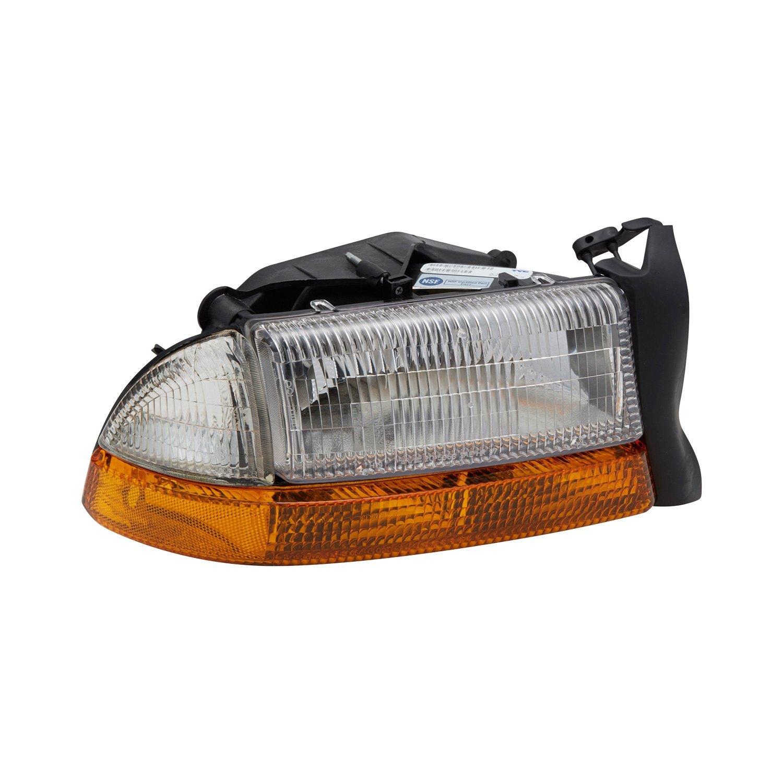 TYC Headlight Headlamp Front Head Light Right Passenger Side SAE//DOT Approved