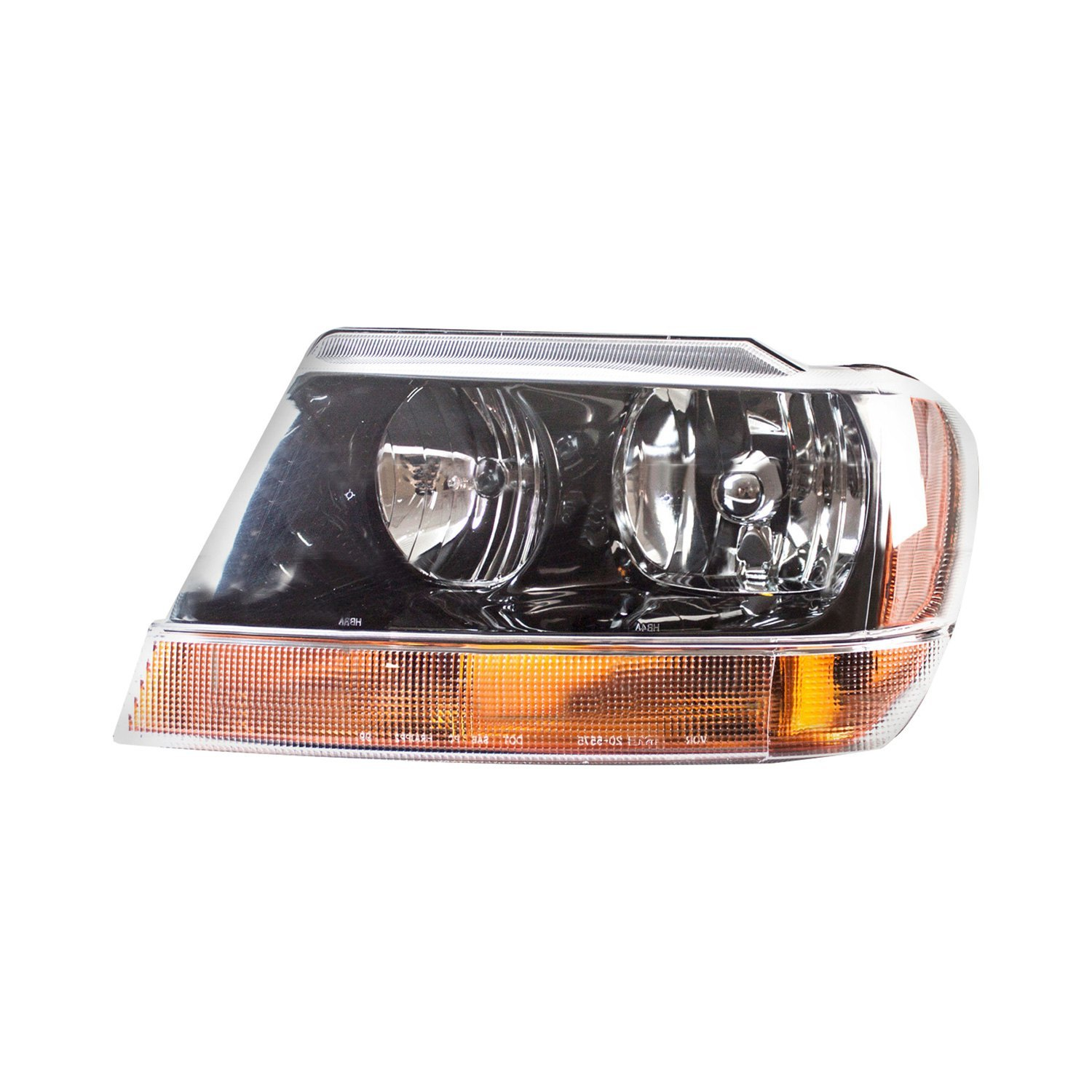 tyc jeep grand cherokee 2002 replacement headlight. Black Bedroom Furniture Sets. Home Design Ideas