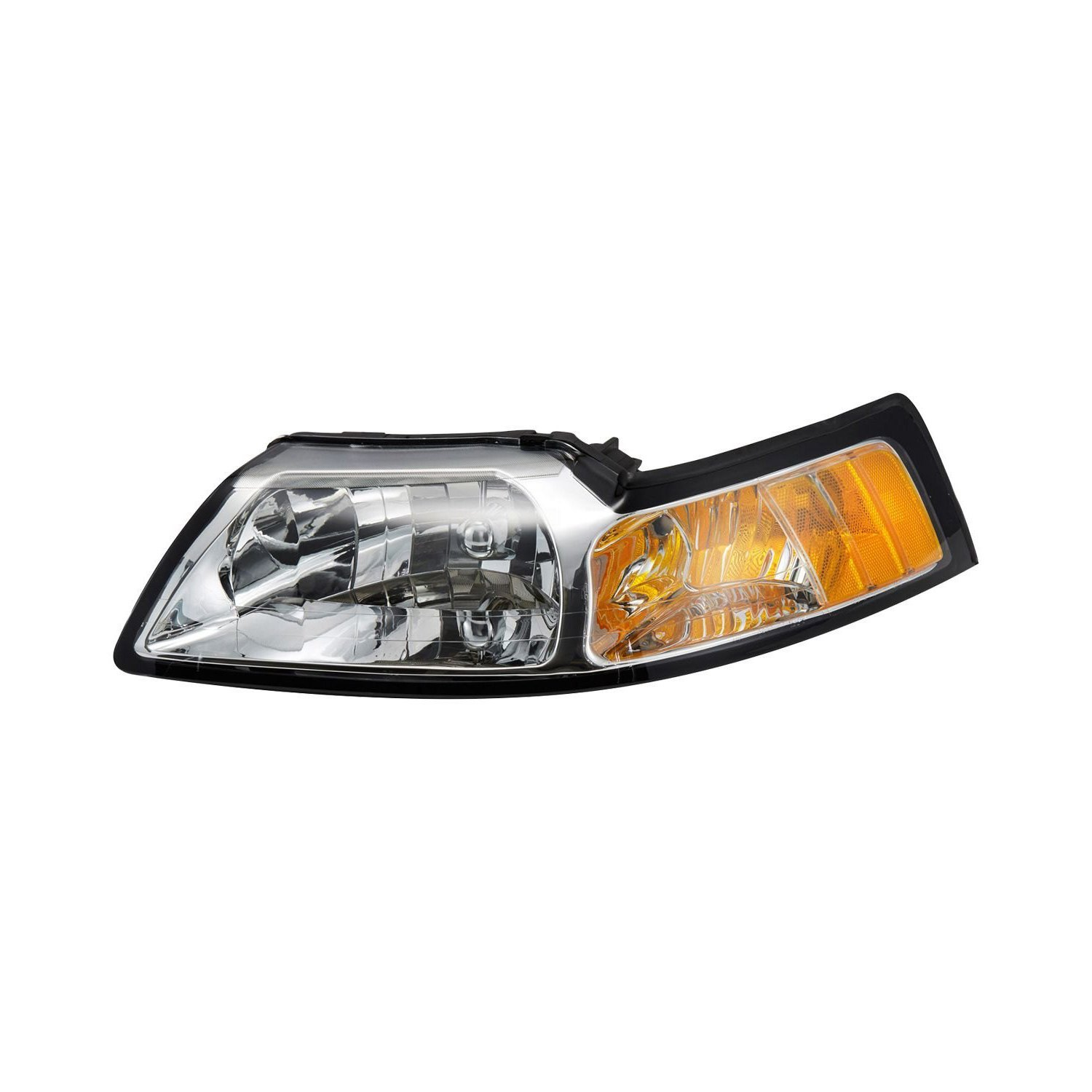 tyc ford mustang 2000 replacement headlight carid com