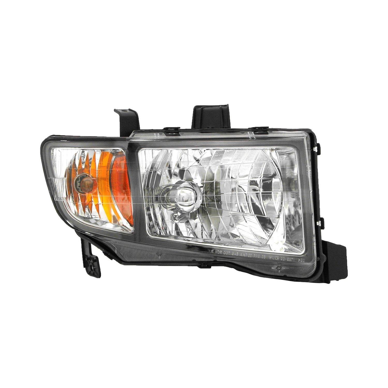 TYC Headlight Assembly Left Right Set Of 2 For Honda Ridgeline