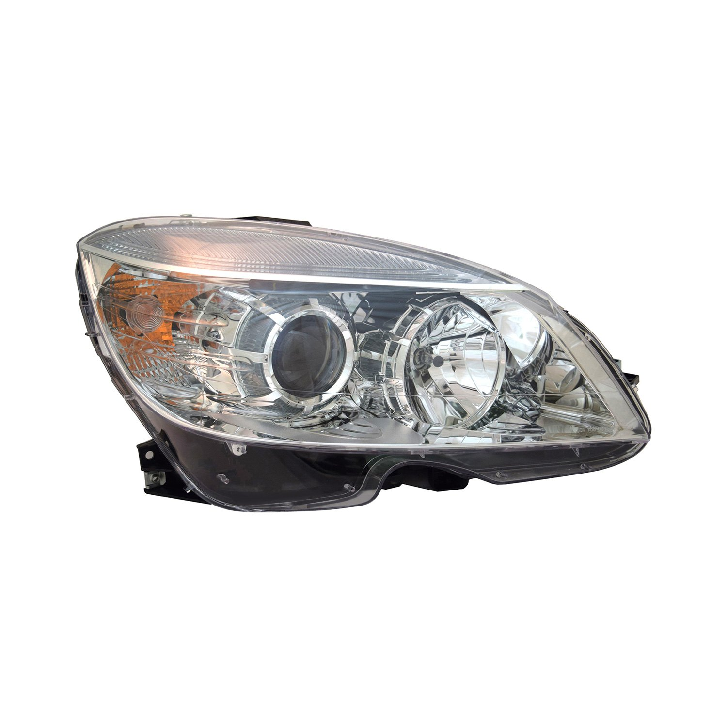 Tyc mercedes c class 2009 replacement headlight for Mercedes benz headlight replacement