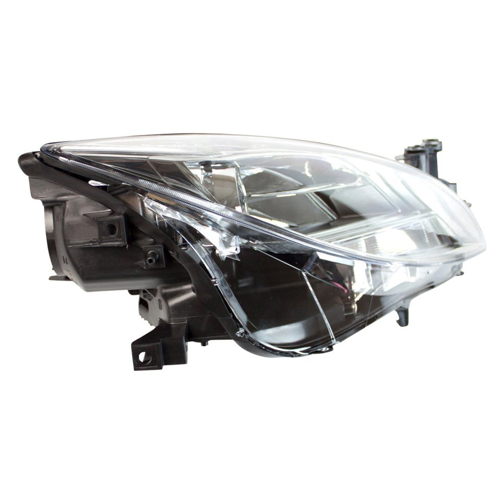 tyc mazda 6 with factory halogen headlights 2010 replacement headlight. Black Bedroom Furniture Sets. Home Design Ideas