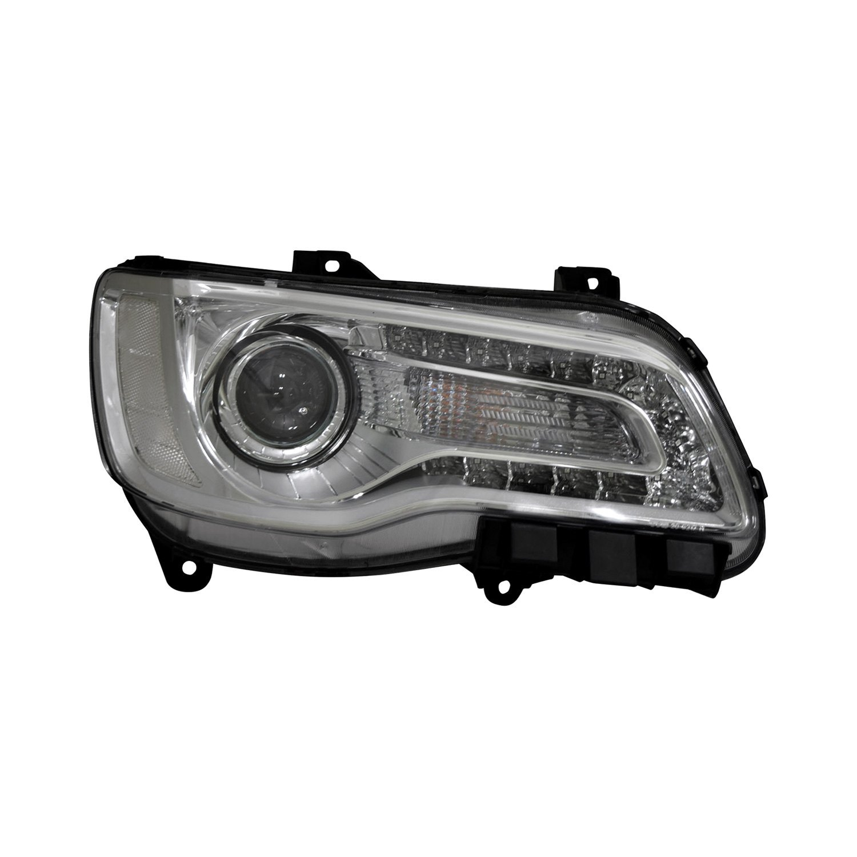 Chrysler 300c With Factory Halogen Headlights: Chrysler 300 2015-2016 Replacement Headlight