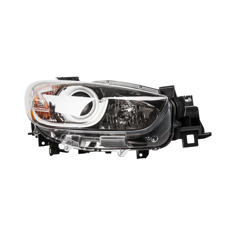 Mazda 5 Headlight Parts Diagram: Mazda CX-5 2016 Replacement Headlight