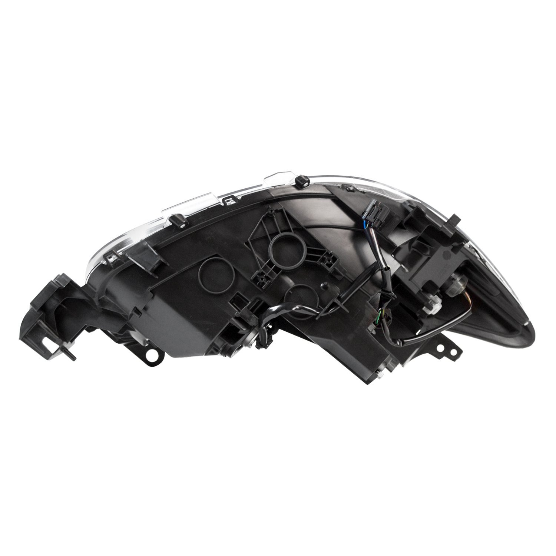Mazda 5 Headlight Parts Diagram: For Mazda CX-5 2013-2016 TYC 20-9310-00-1 Driver Side