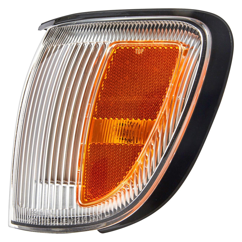 Corner Lighting Tycar 26115 2w626 Driver Side Replacement Turn Signal Corner Light