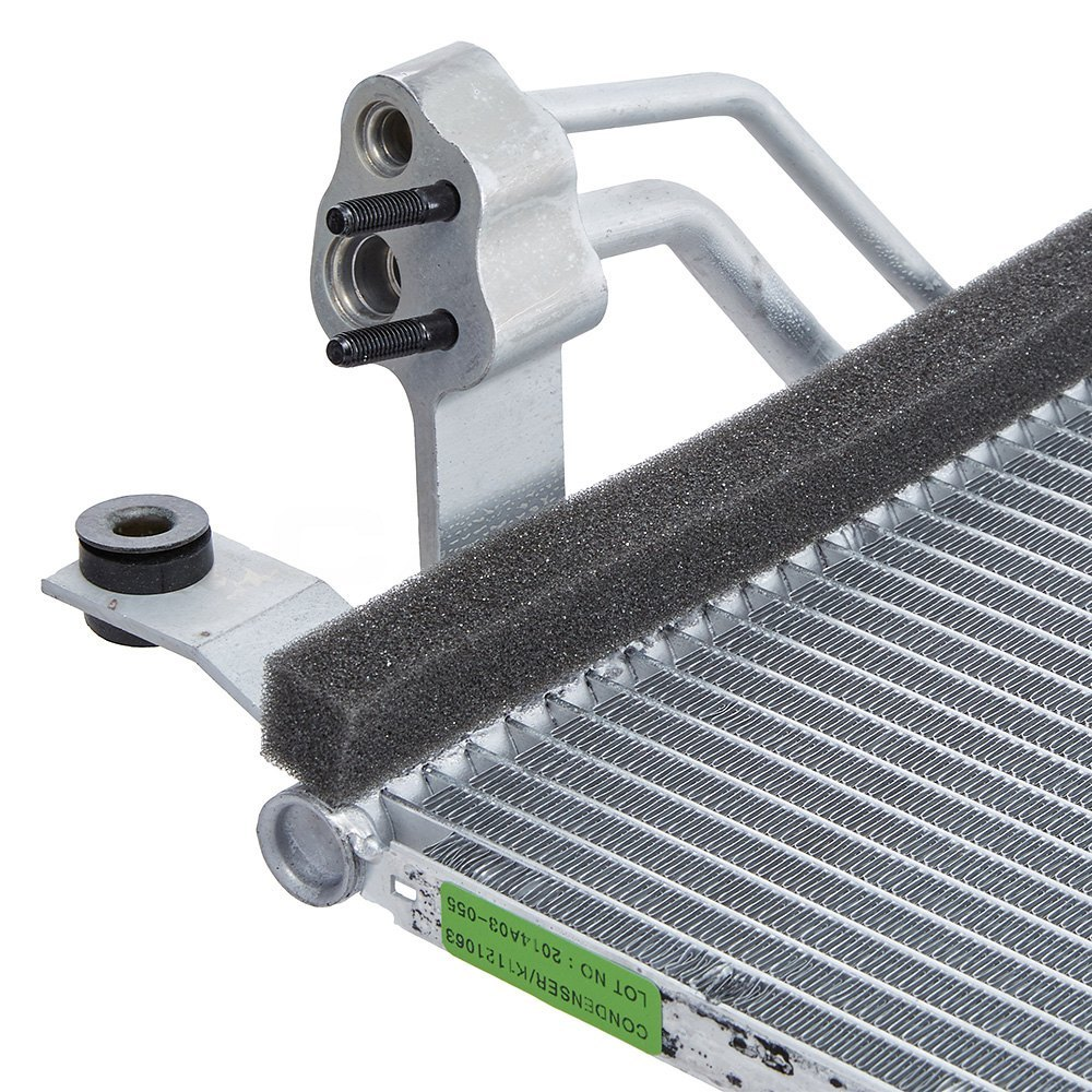 976061E000 BRAND NEW A//C CONDENSER WITH DRIER FITS HYUNDAI ACCENT 2006-2011