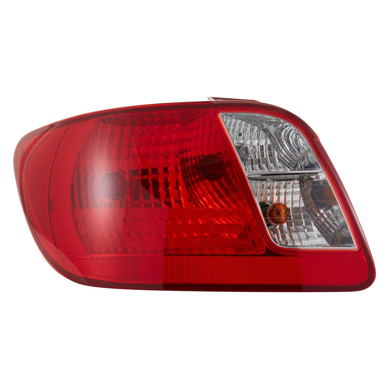 Tyc 174 Kia Rio Sedan 2006 2011 Replacement Tail Light