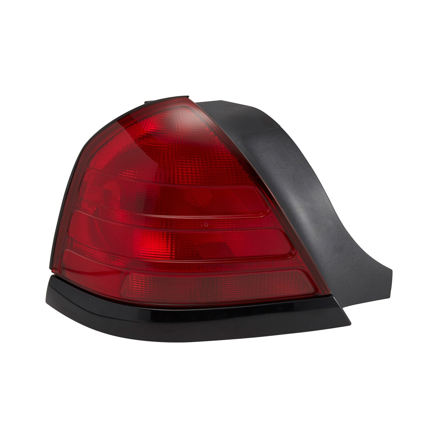 Driver Side Replacement Tail Light Lens And