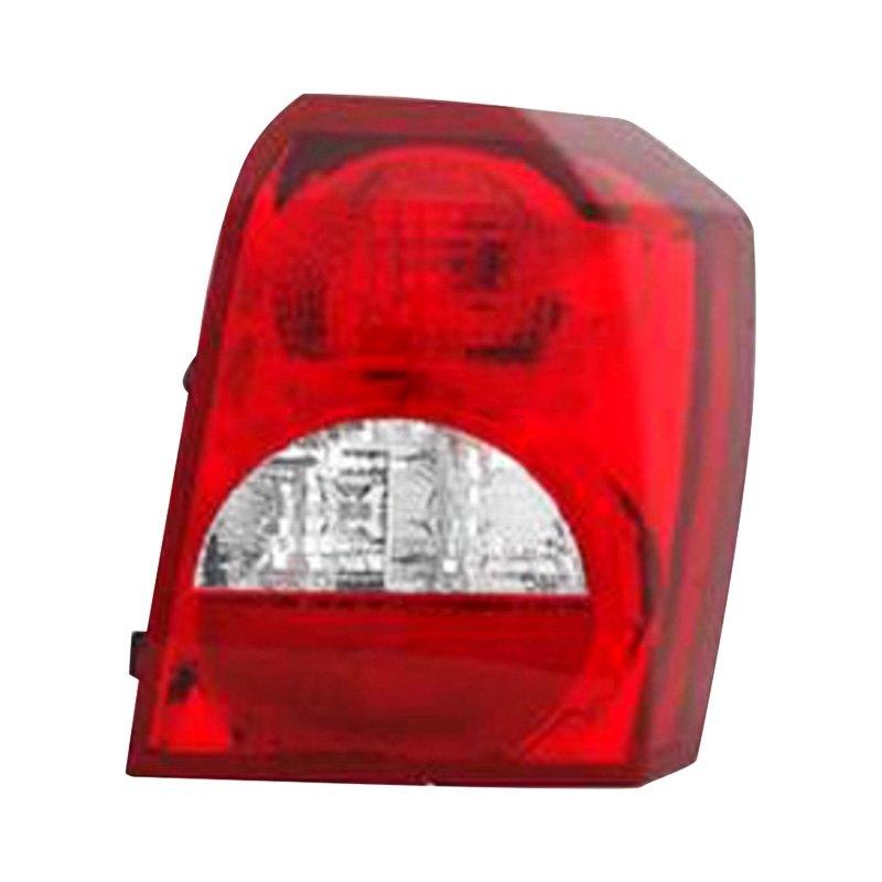 08-12 Dodge Caliber Passenger Right Side Tail Light Rear Lamp NSF