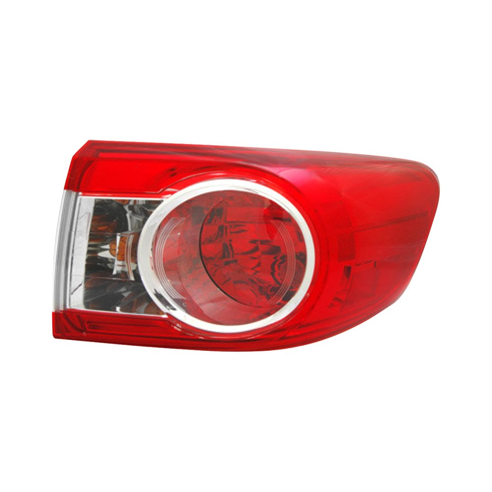 2001 Toyota Corolla Tail Lights: For Toyota Corolla 11-13 TYC Passenger Side Outer