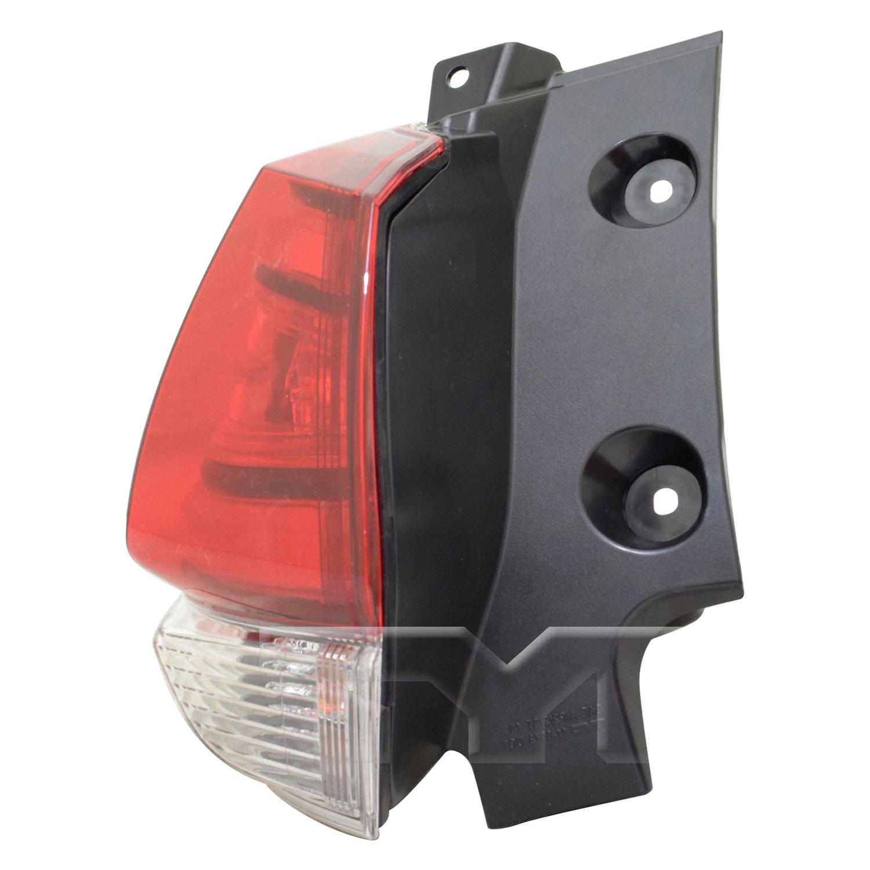 LED -Black 2008 Volvo VNM430 SLEEPER Post mount spotlight 6 inch Driver side WITH install kit