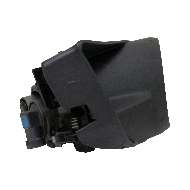 Driver side WITH install kit 6 inch 2008 Mazda 5 Post mount spotlight 100W Halogen -Black
